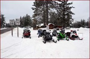 about-clam-lake-snowmobiles