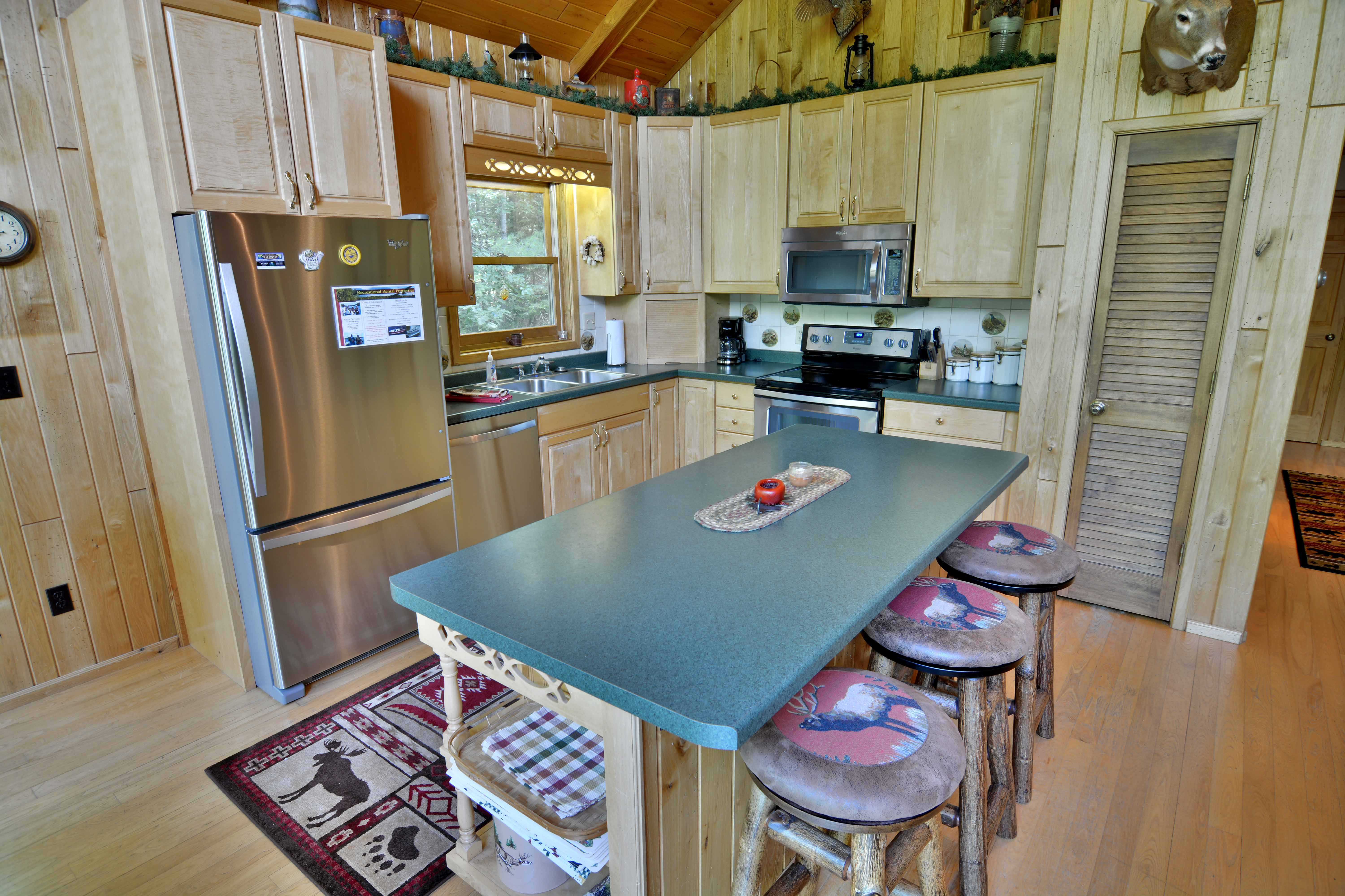 Clam Lake Wisconsin Vacation Home Rental | Clam Lake, Wisconsin