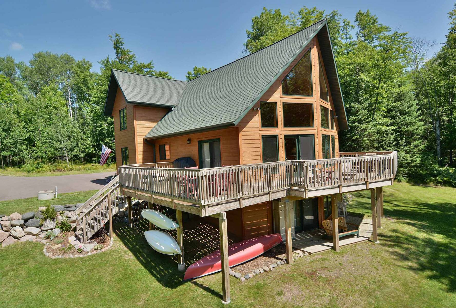 Swell Lodging In Clam Lake Wisconsin Northern Wisconsin Beutiful Home Inspiration Aditmahrainfo